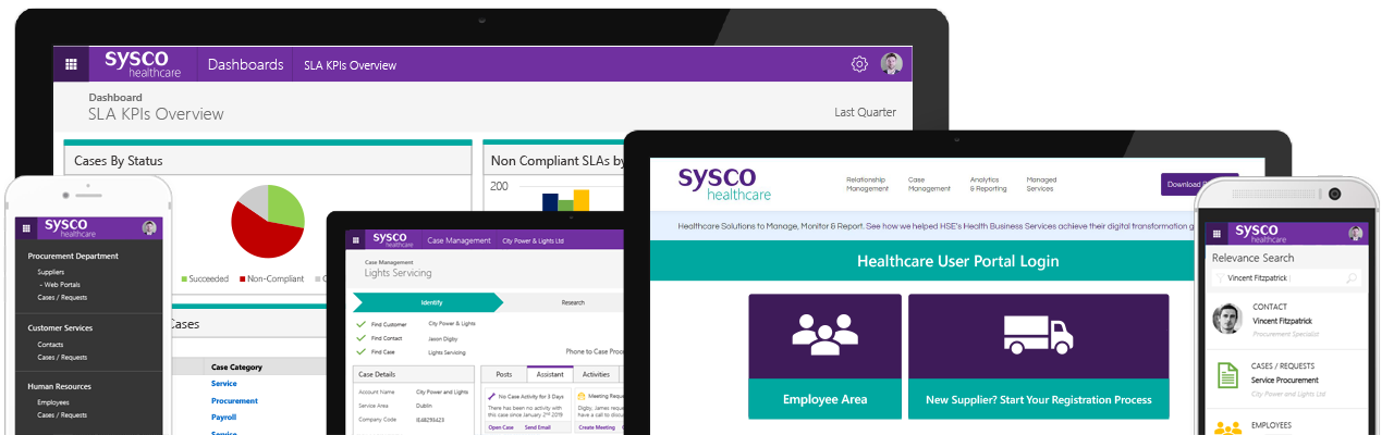 Business Relationship Management for Healthcare - Microsoft Dynamics 365